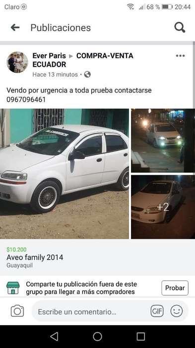 Chevrolet Aveo Family 2014 - 280 km