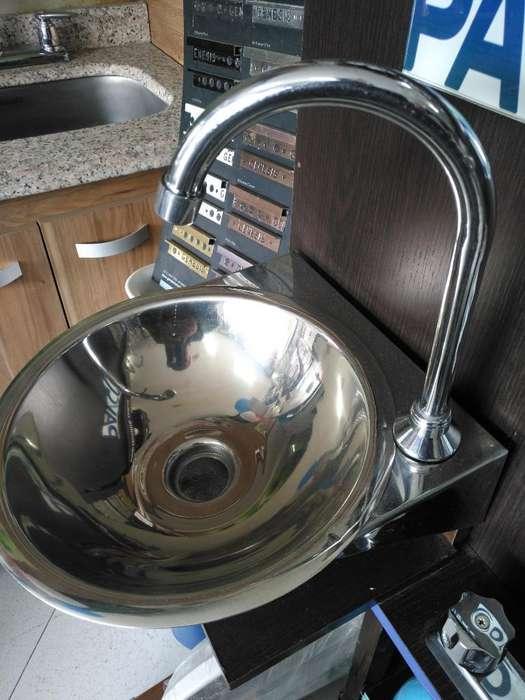 Lavamanos Acero con Pedal