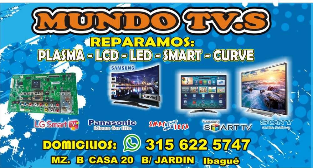 REPARAMOS TELEVISORES DE ULTIMA GENERACIÓN PLASMA LCD LED SMART 4K INF:3156225747 ibague