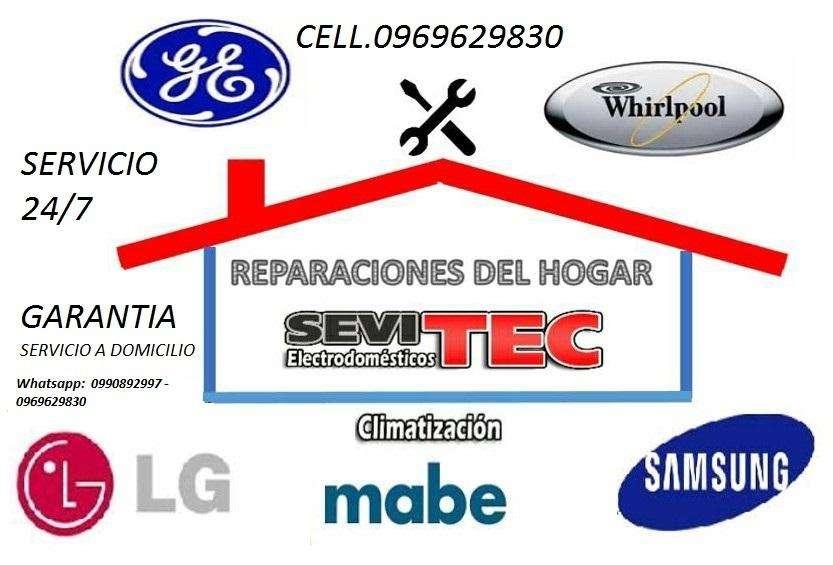 Arreglo reparacion, Aires, Cocinas,Campanas, Lavadora, Secadora, refrigeradoras, Neveras,