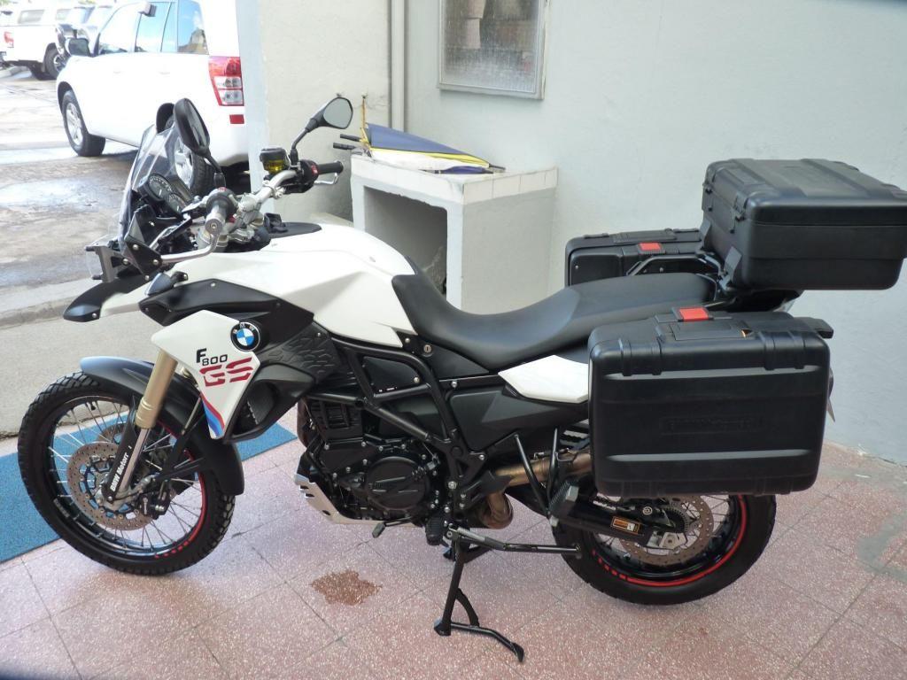 venta bmw gs800 blanco 2013