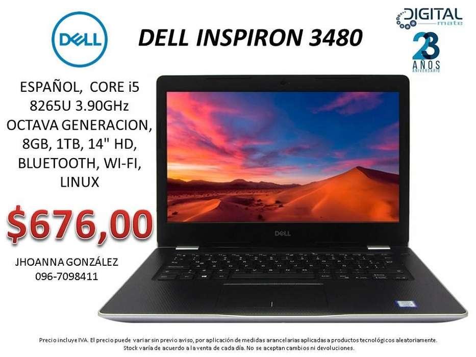 <strong>dell</strong> INSPIRON 3480, ESPAÑOL, CORE i5