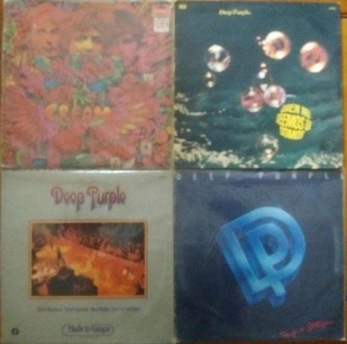 Discos de vinilo Rock y Jazz