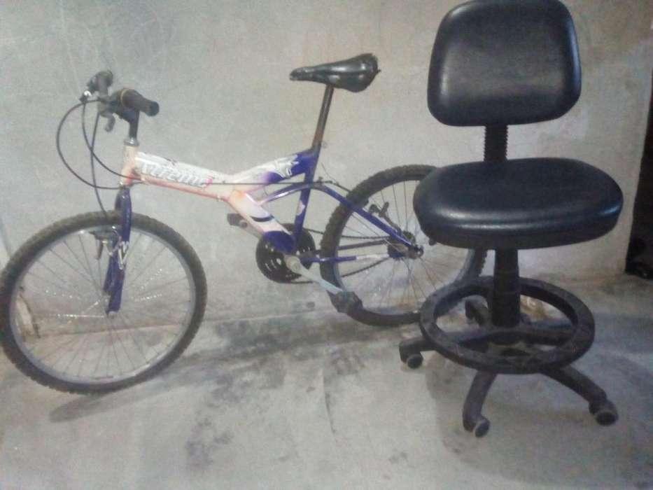 Baratisimo combo M,bicicleta y silla