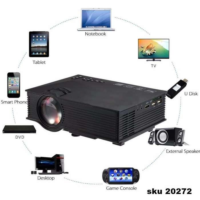 Mini Proyector Led Uc46 1200 Lumens Wifi 3d Unic Full Hd W01 nuevo 3143393760