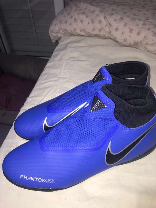 Botines Tartaneras Phantom Ghost Nike Azules (sin Uso)