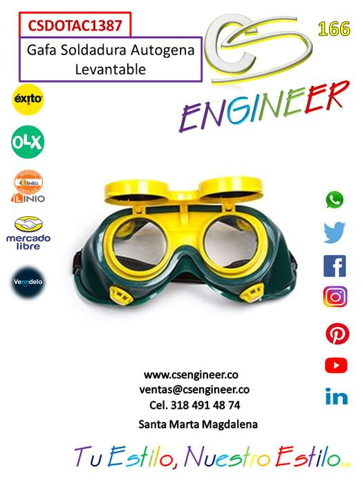 CS ENGINEER - Gafas Soldadura Autogena Levantable
