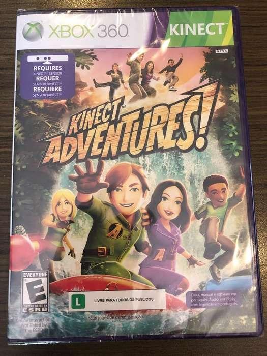 Kinect Adventures Xbox360 Original Nuevo