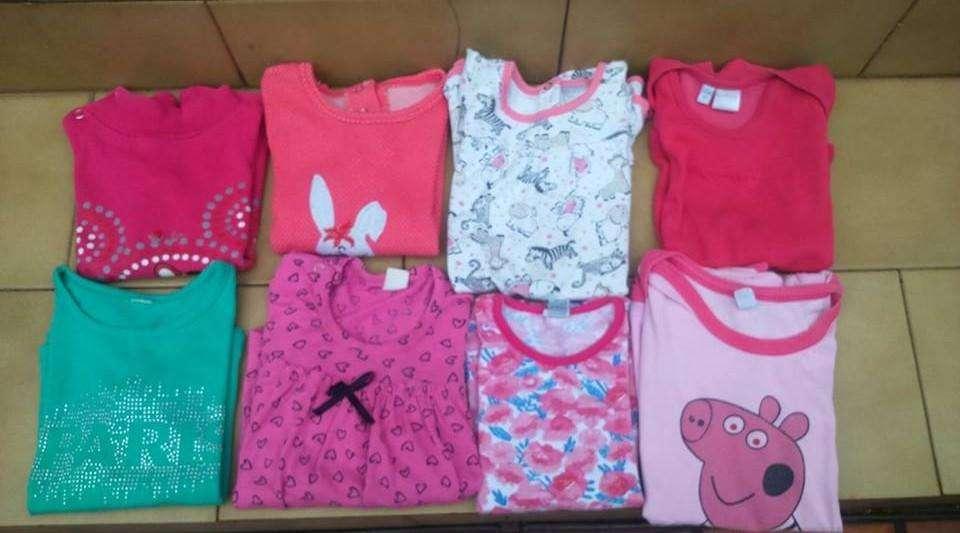 Lote de 10 ropa para nena de 2 años