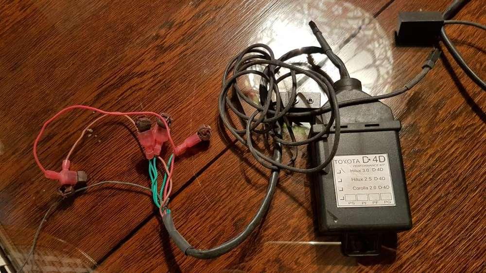 Chip de potenciación para Toyota Hilux 3.0 20012005 y para D4D 2005 al 2011