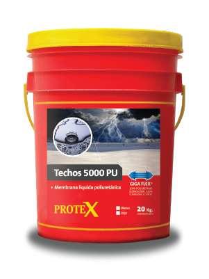 Techos 5000 Pu Membrana Liquida Poliuretanica Balde x 20 kg.