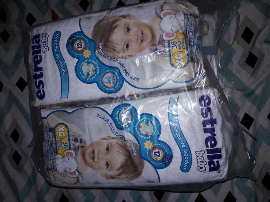 Paales Estrella baby XG 36 unidades