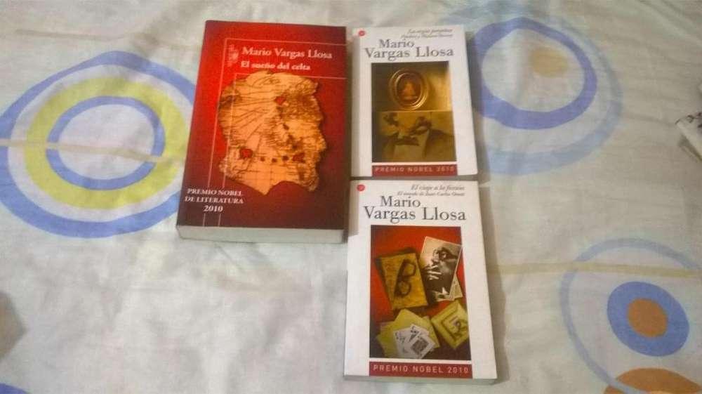 Mario Vargas Llosa - 3 Libros