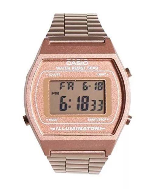 9b8a36d75750 Reloj Casio Retro Oro Rosa 100% Original Nueva Coleccion CC Monterrey local  sotano 5