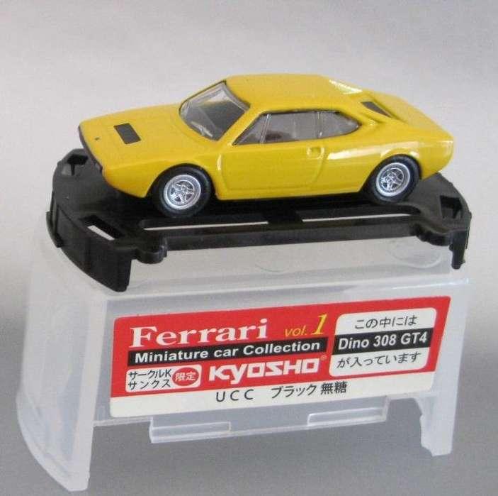 Ferrari Miniatura marca KYOSHO, escala 1/100