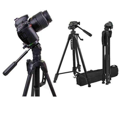 Tripode Semi Profesional 1.65m Soporta 3kg Canon Nikon Sony Camara Dslr Reflex Foto Video