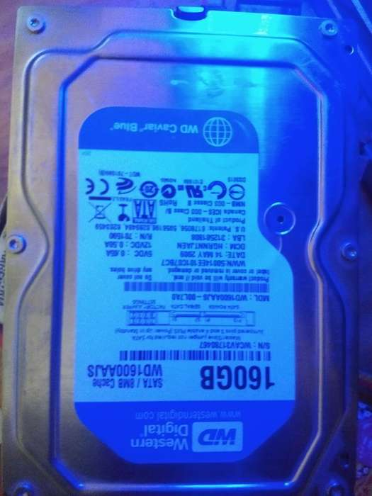 Disco Rígido de 160 Gb