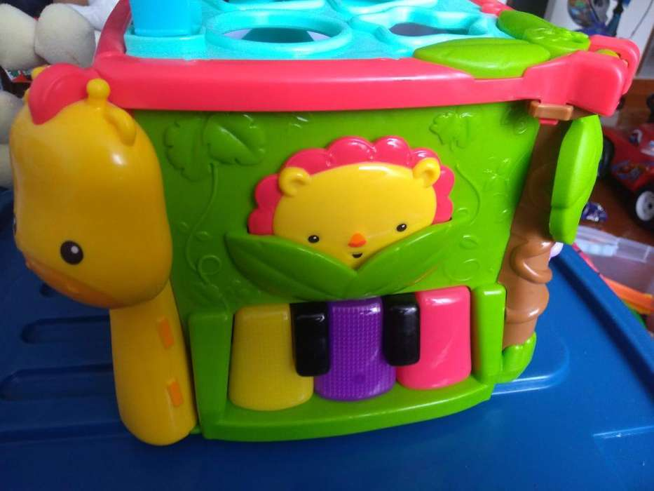 Cubo Didactico Fisher Price