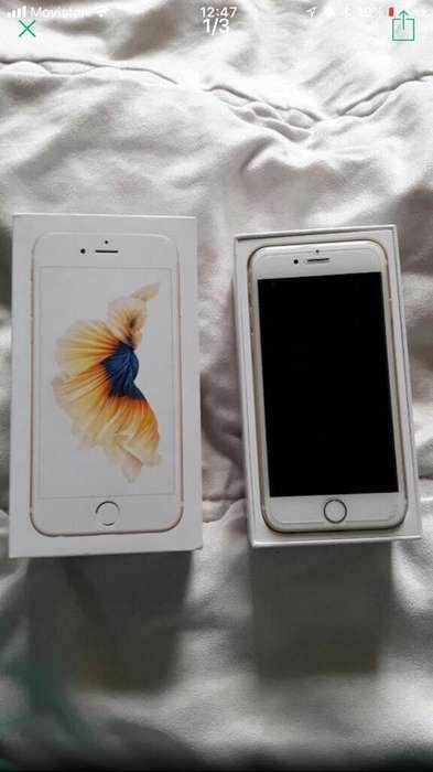 Vendo Iphone 6 Gold de 16 gb en buen estado.