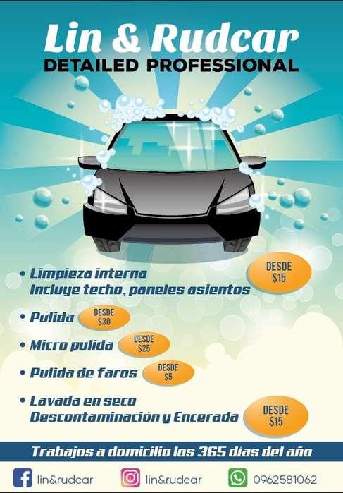 Servicio de Limpieza en Autos Y Pulida