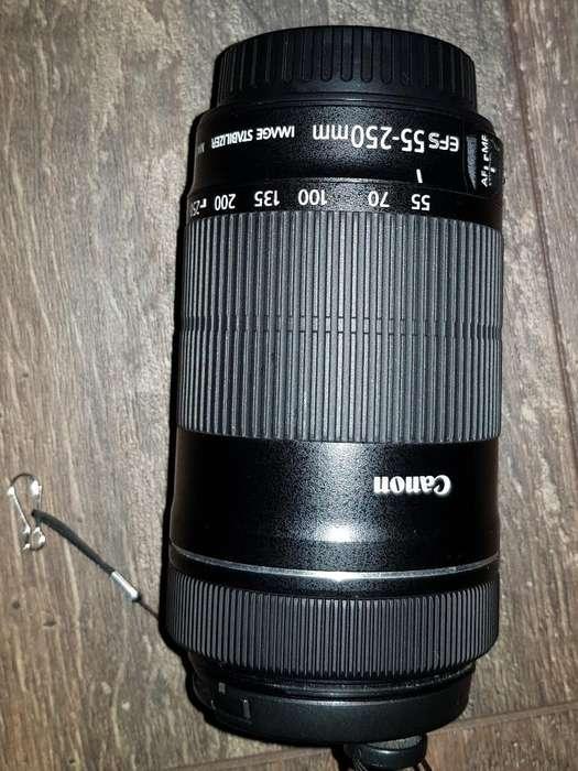 Lente <strong>canon</strong> Efs Usado 55 - 255 Mm