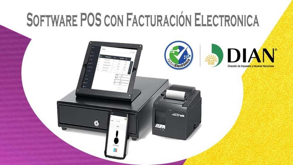 Software Pos con Facturación Electrónica