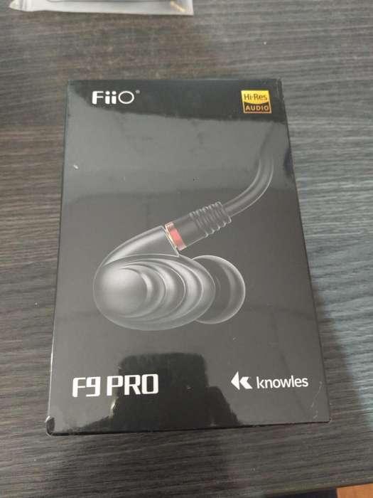 En Stock!! Fiio F9 Pro Audífonos Inear Hifi Handsfree 3 Drive