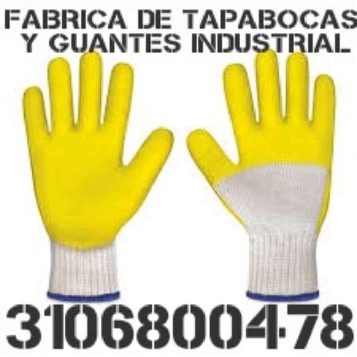 Tapabocas Negro Y Azul Tres Capas