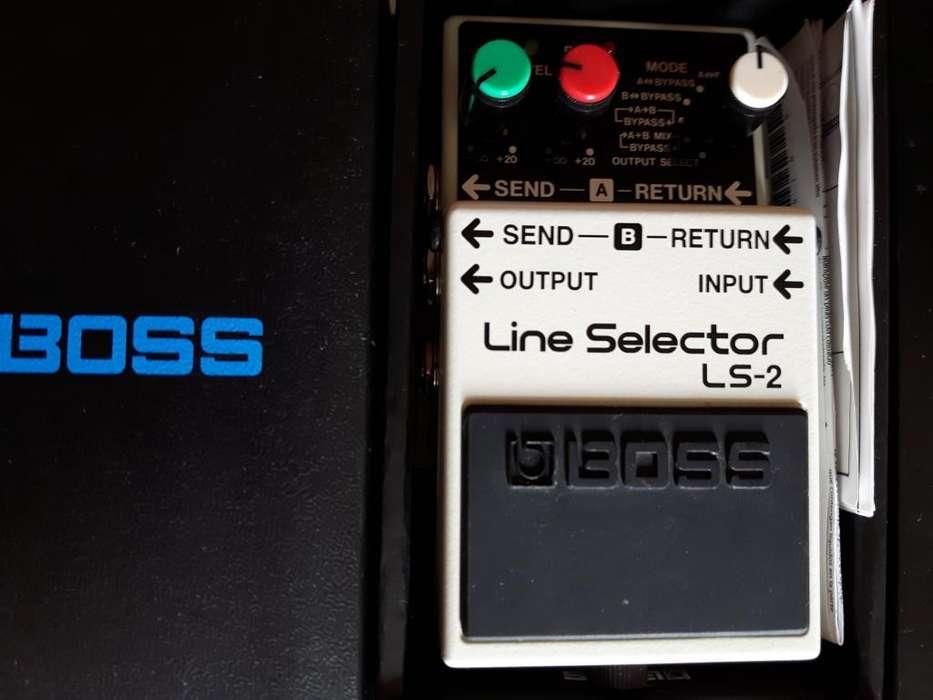 Pedal BOSS LS2 para Guitarra o bajo
