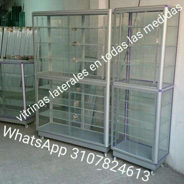 Vitrinas en Aluminio Y Vidrio de Lujo
