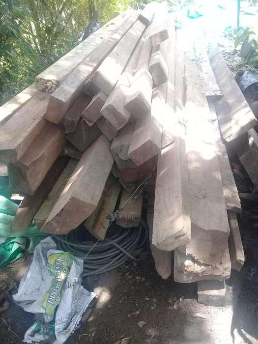 Vendo madera para techo de abarco