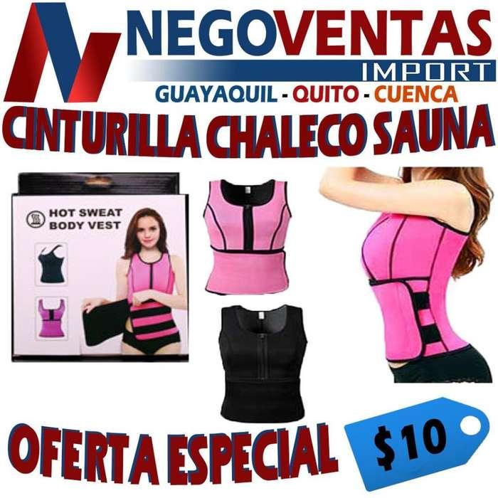 CINTURILLA CHALECO SAUNA DE OFERTA