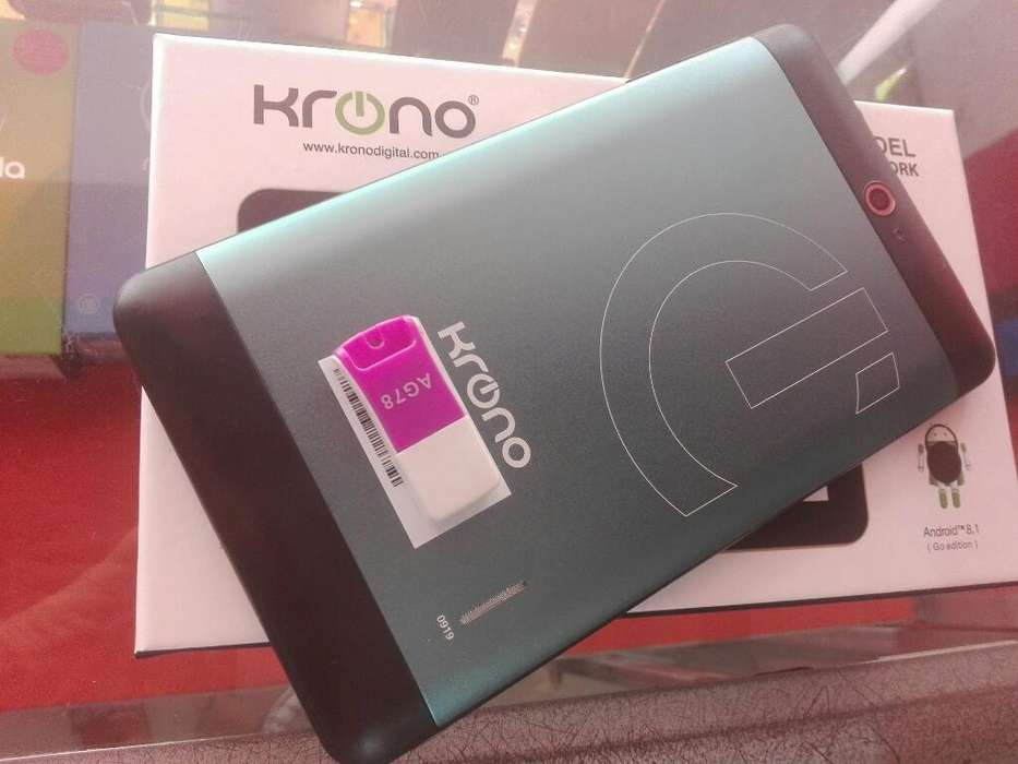 Tablet Krono 16gb Y 1gb Ram Doble Sim