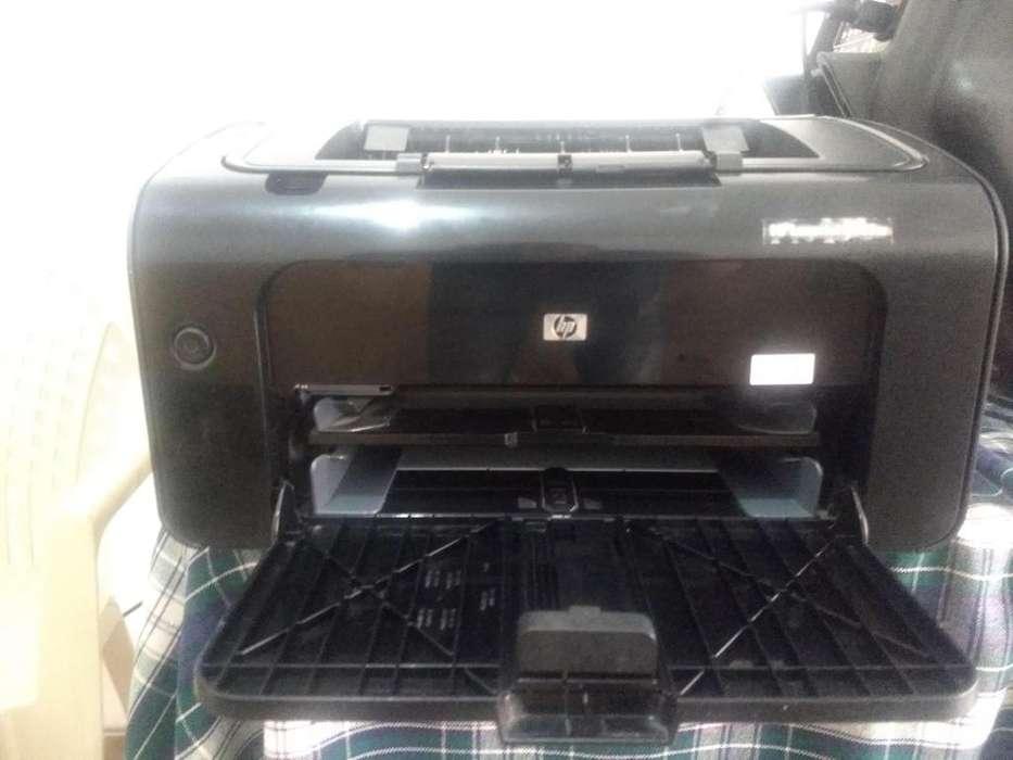 impresora wifi laser HP Laserjet P1102w