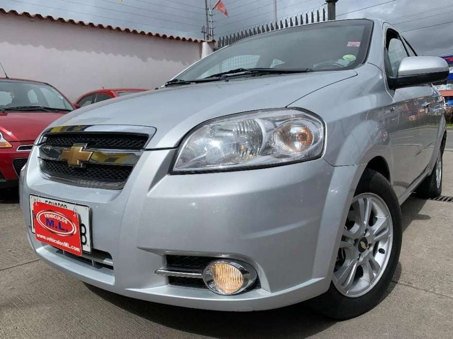 Chevrolet Aveo 2015 - 67143 km