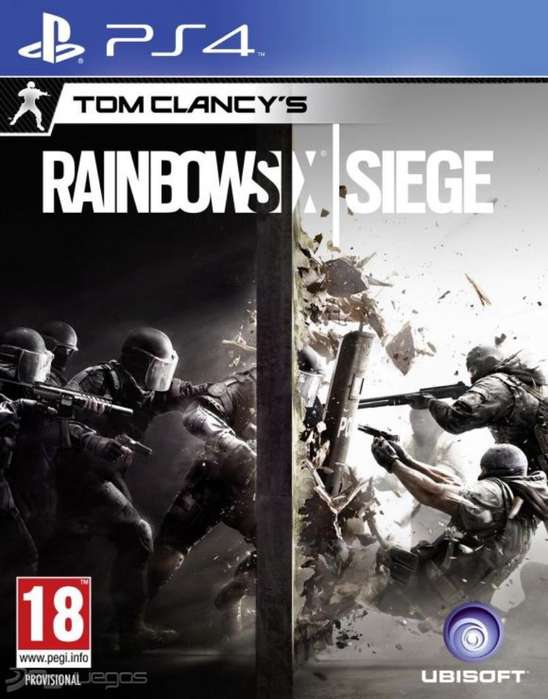 Rainbow Six Siege Play Station 4