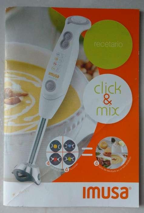 Batidora Imusa Click Y Mix
