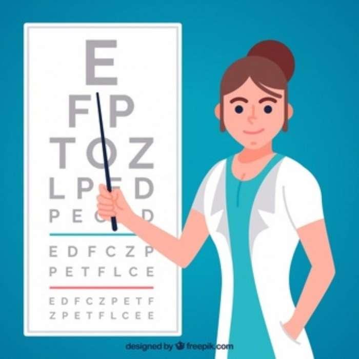 Optometra O Estudiante de Optometria