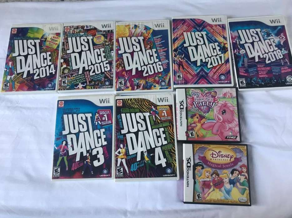 Just Dance para Wii consola y controle