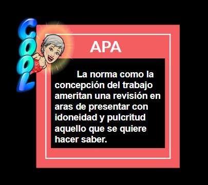 APA Y PULCRITUD