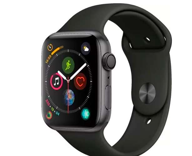 Apple Watch Series 4 GPS con banda deportiva negra - Nuevo -44 mm - Space Grey
