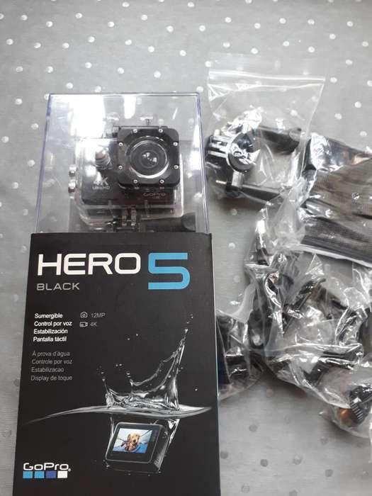 Se Vende Camara Hero 5 Black Nueva