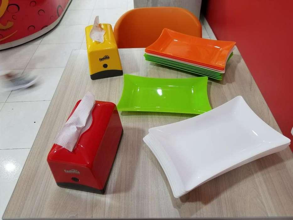Bandejas Plásticas para Comida Rápida
