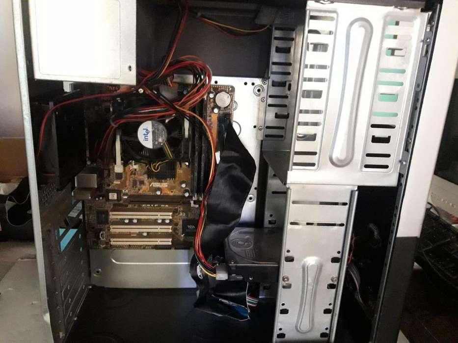 <strong>pc</strong> Intel Pentium 4 2.0GHZ, 1BG de ram DDR, mother asus p4vp