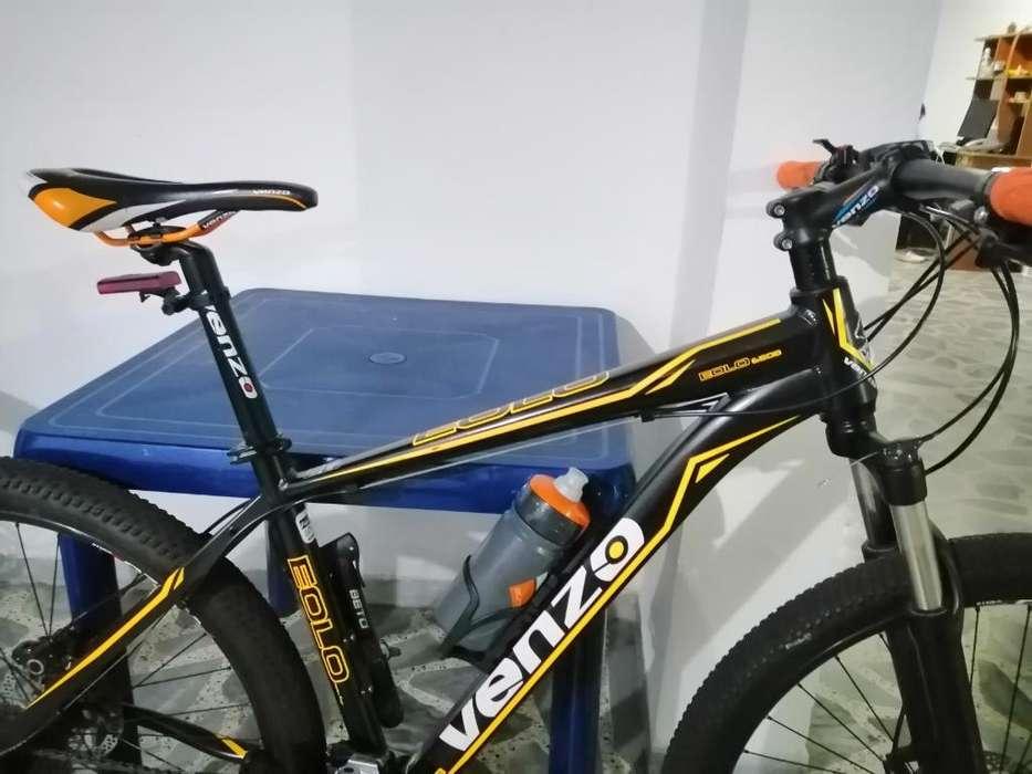 Vendo Bicicleta Venzo Talla M Rin 27.5
