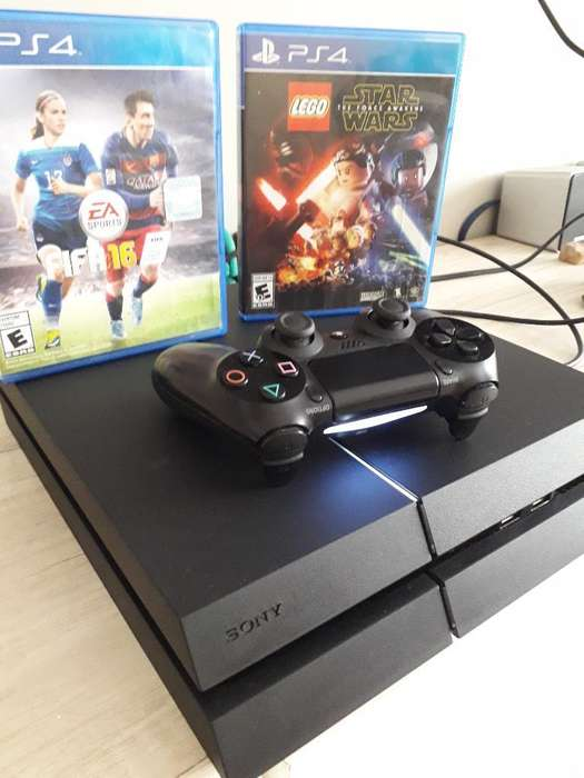 Play Station 4 Impecableee