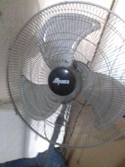 <strong>ventilador</strong> de Pie Alpaca Fas20 Palas 20 Metal 130W