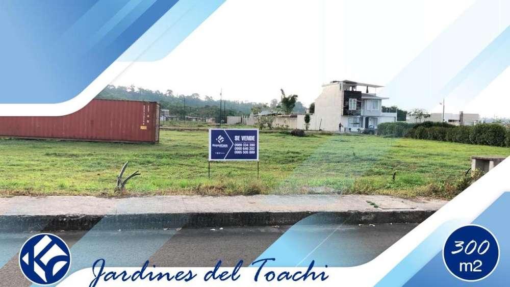 venta-lote-terreno-Urbanizacion Jardines del Toachi-via las mercedes