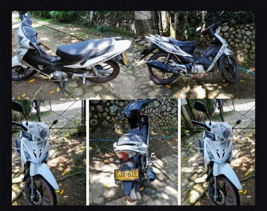 Venta de moto AKT Flex. Como nueva