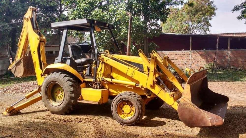 Retro Excavadora Case 580 Super K 4x4